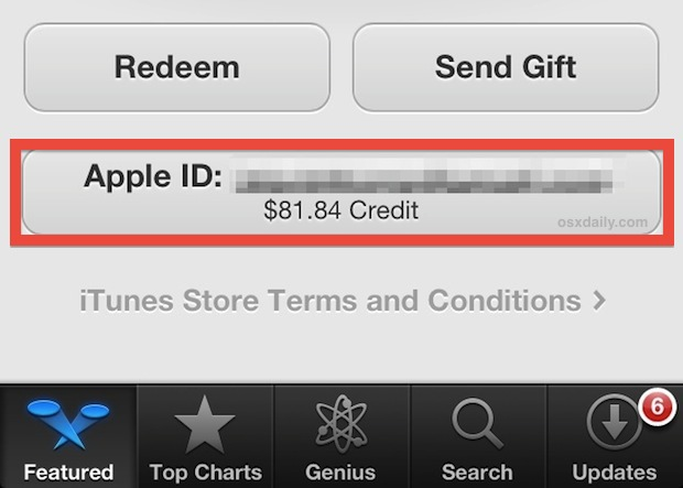 Check iTunes Gift Card Balance without Redeeming