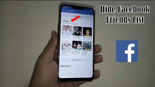 Make Facebook Friends List Private