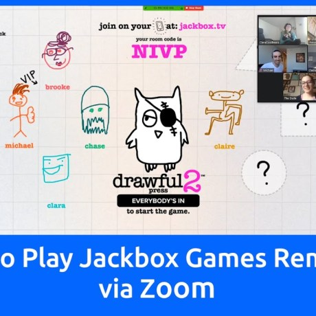 Play Jackbox on Zoom