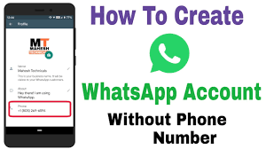 WhatsApp Business Account Without Number