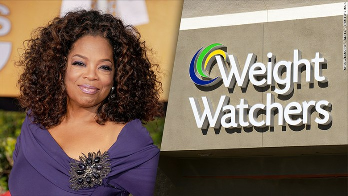 Oprah is now a Weight Watcher!