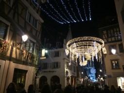 Street after street of twinkling lights