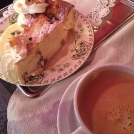 Cheesecake for breakfast—mon dieu!