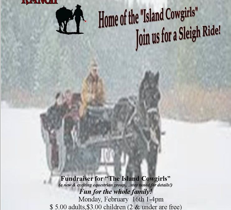 Sleigh Ride Fundraiser – RE-SCHEDULED TO FEB 21st