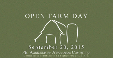 Open Farm Day – Sep 20th 2015