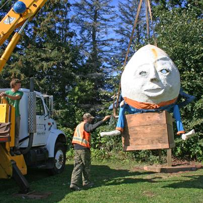 Humpty Dumpty Comes to Toy Factory
