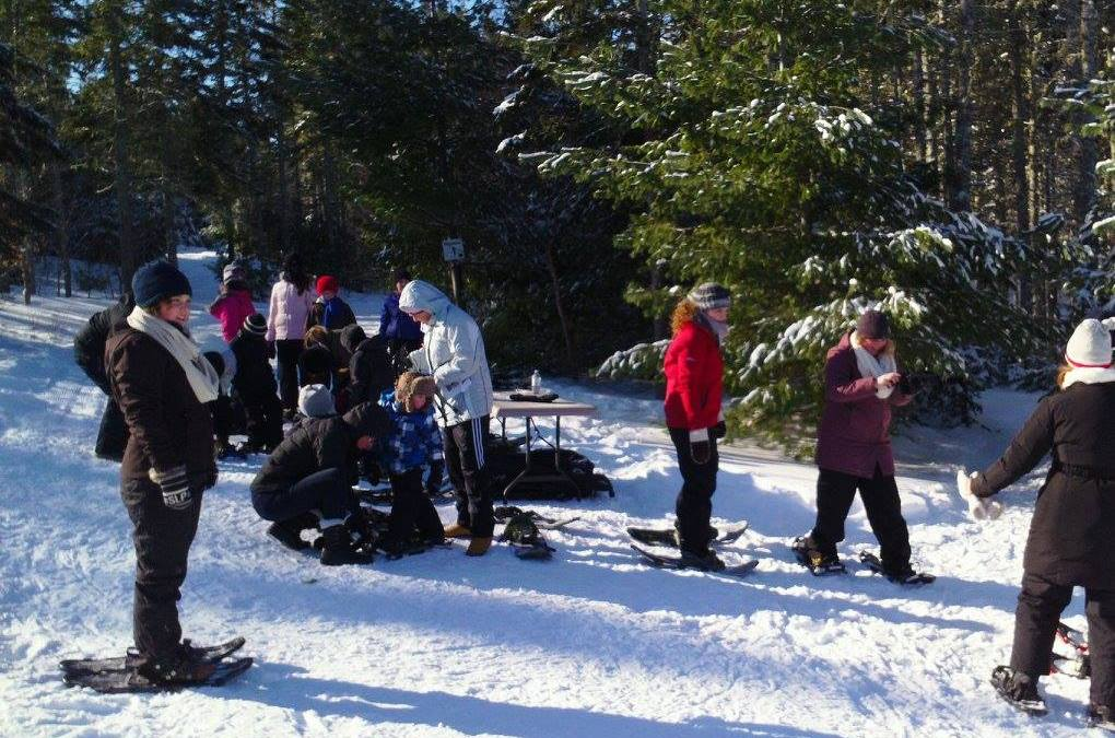 PEI Winter Woodlot Tour