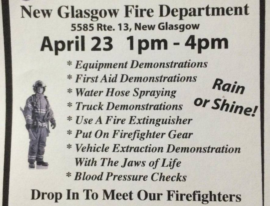 New Glasgow Fire Dept. Open House