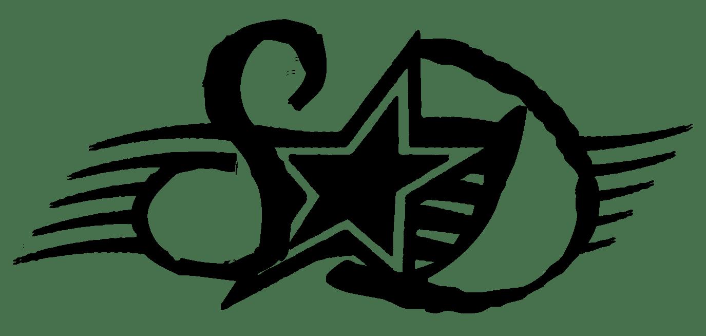 Spangle Dangle Logo Initials