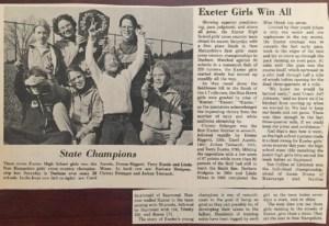 1975 Girls State Champions