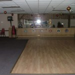 Banquet hall dance floor