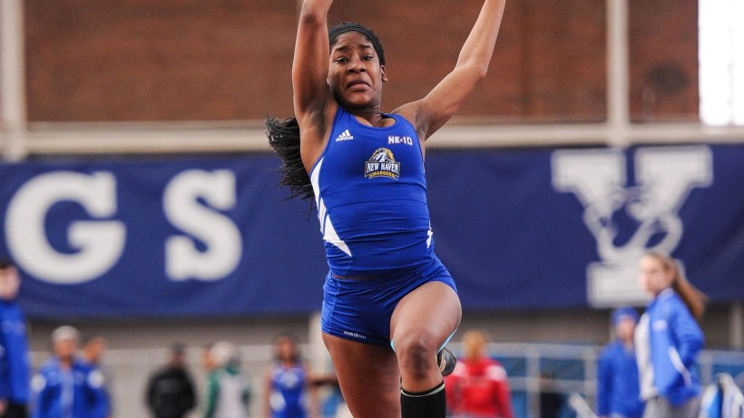 Whyte Leads Women S Track And Field At Yale Springtime Invitational With First Place Finish In Triple Jump