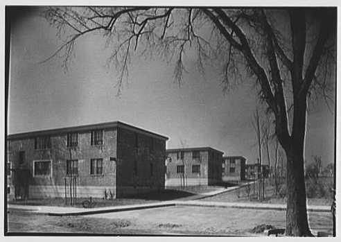Quinnipiac Terrace, 1942 (Library of Congress)