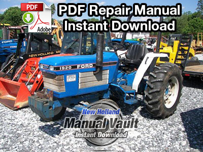ford new holland 1920, 2120 tractor repair manual manual vault 4600 ford tractor wiring ford new holland 1920, 2120 tractor repair manual