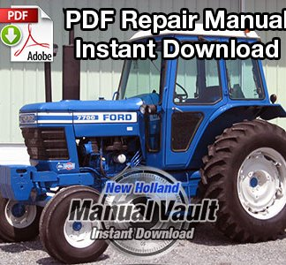 Ford 2600, 3600, 4100, 4600, 5600, 6600, 6700, 7600, 7700 Tractor Repair Manual