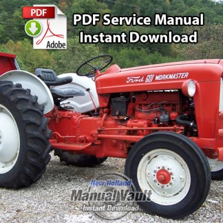 1954-1964 Ford 600 thru 1801, 2000, 4000 Tractor Service Manual