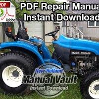 New Holland 1530, 1630, 1725, 1925, TC25, TC29, TC33 Repair Manual