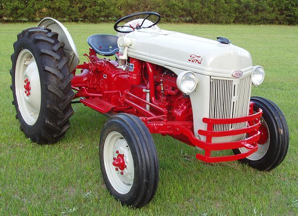 Repair Manuals For Tractors : Ford n tractor factory service manual vault