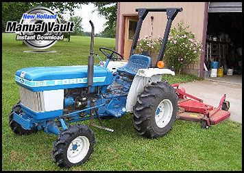 Ford Yard Tractor Attachment Repair Manual