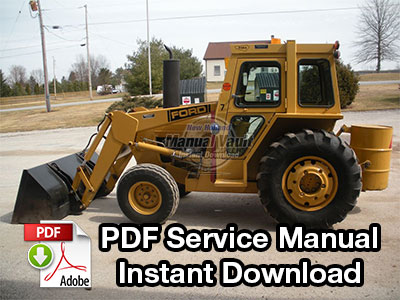 Ford 345C, 445C, 545C Tractor Loader Service Manual