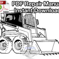 Ford CL35, CL45 Skid Steer Loader Repair Manual