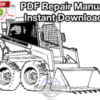 Ford CL35, CL45 Skid Steer Loader Repair Manual