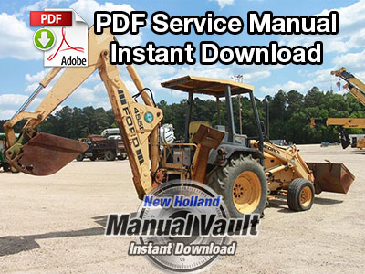 Ford KF3P, DF0P, DF1Q, LF4P/Q, LF5Q Tractor Service Manual PDF Download