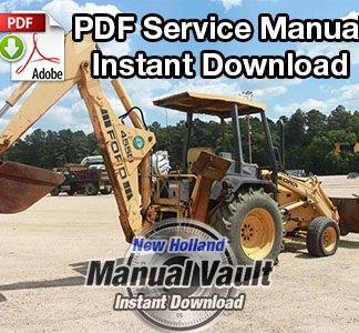 Ford KF3P, DF0P, DF1Q, LF4P/Q, LF5Q Tractor Service Manual PDF Download