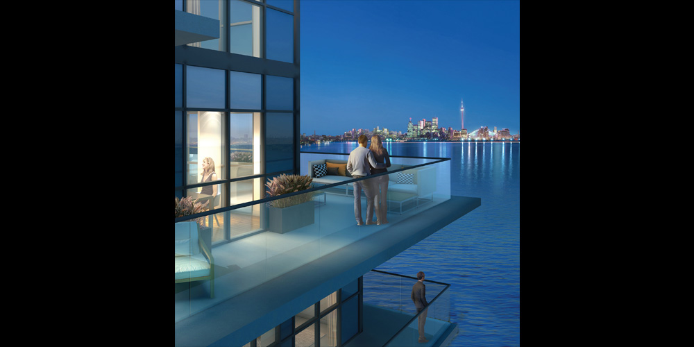 Water's Edge - balcony
