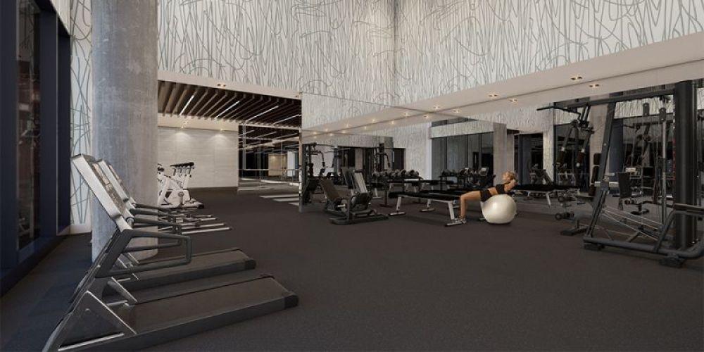 Kingly Condos exercise room