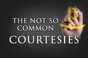 Courtesies