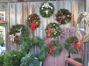 Custom made wreathes