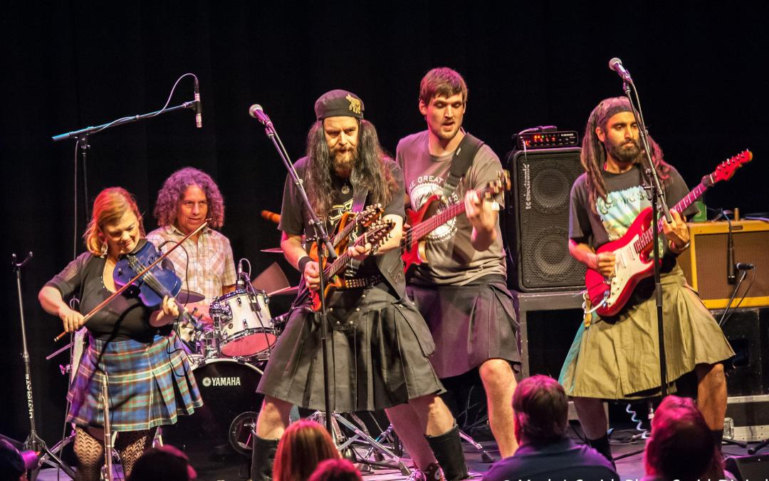 Tempest Celtic Rock Live at the New Hope Winery