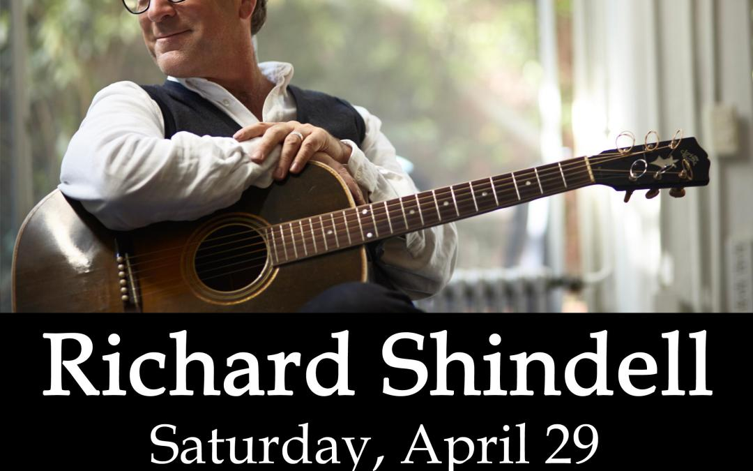 Richard Shindell Live at the New Hope Winery