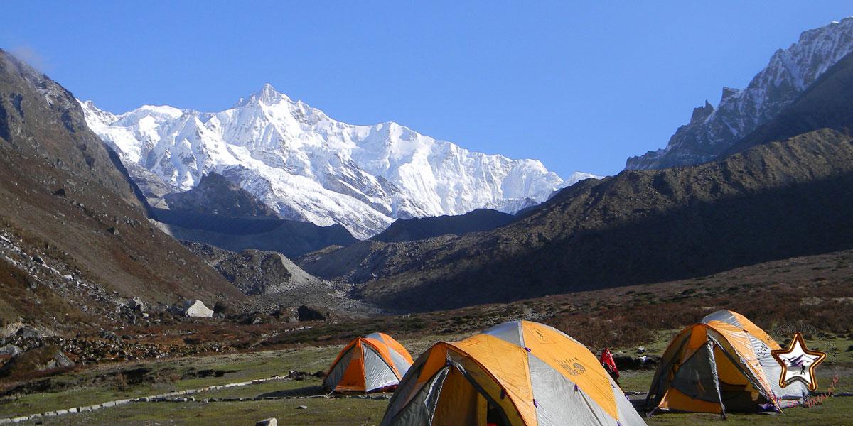 Goecha La trek in Himalayas
