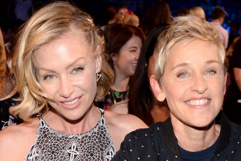 Ellen Degeneres And Portia De Rossi Renew Their Wedding