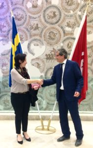 ILAC swedish embassy in tunisia