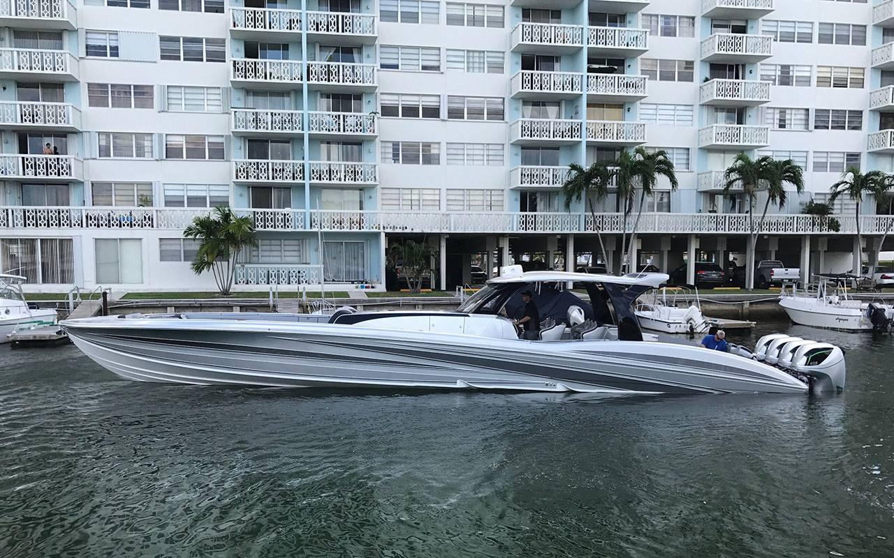 2019 MTI V 57 Power Boat For Sale Wwwyachtworldcom