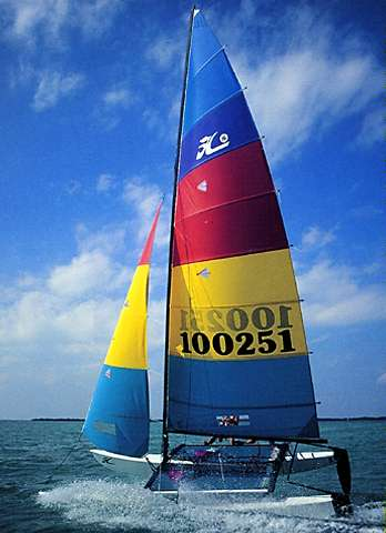 2019 Hobie Cat 16 Sail New And Used Boats For Sale