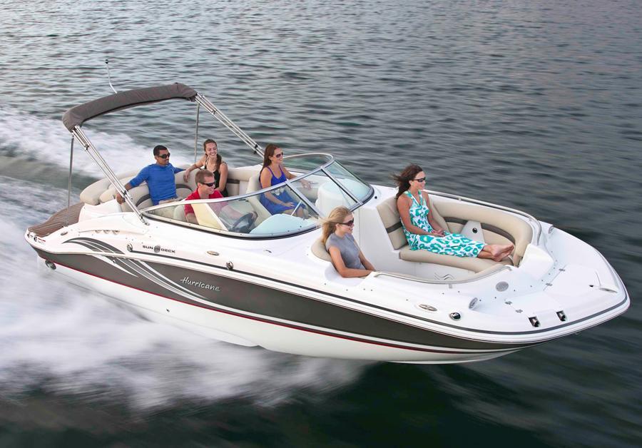 2014 Hurricane SunDeck 2400 IO Power Boat For Sale Www