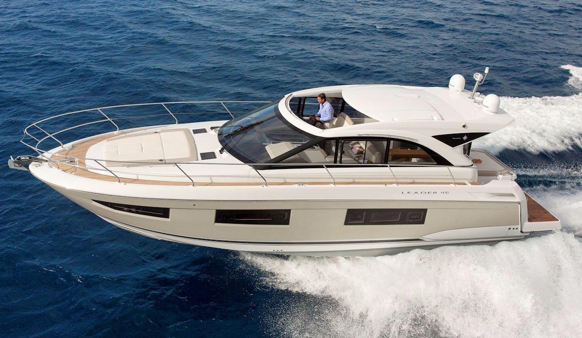 2017 Jeanneau Leader 46 Power Boat For Sale Www