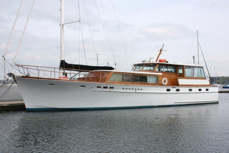 1966 STEPHENS BROS 65 Classic MotorYacht Power New And