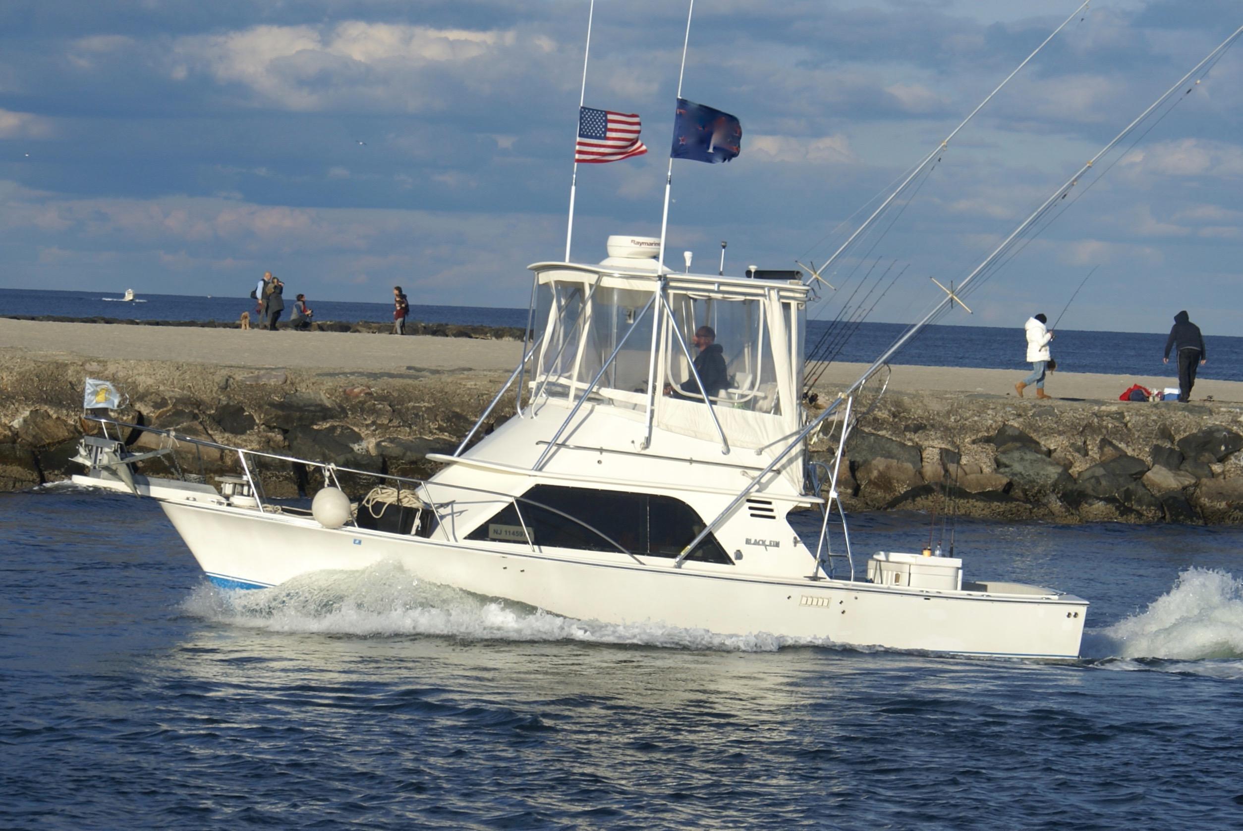 1987 Blackfin 32 Flybridge Power Boat For Sale Www