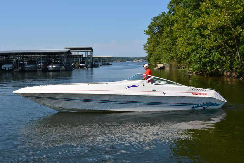 1998 Envision 3200 Intruder Combo Power Boat For Sale