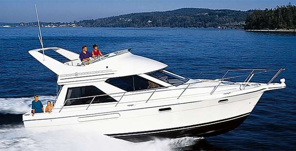 1997 Bayliner 3788 Command Bridge Motoryacht Power Boat