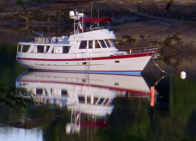 1989 Fantail 50 Pilothouse Trawler With Flybridge Motor Yacht For Sale