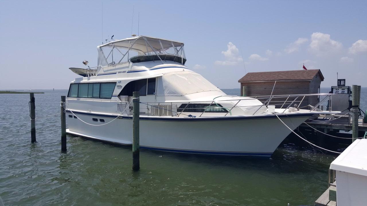 1988 Ocean Yachts 53 Motoryacht Power Boat For Sale Wwwyachtworldcom
