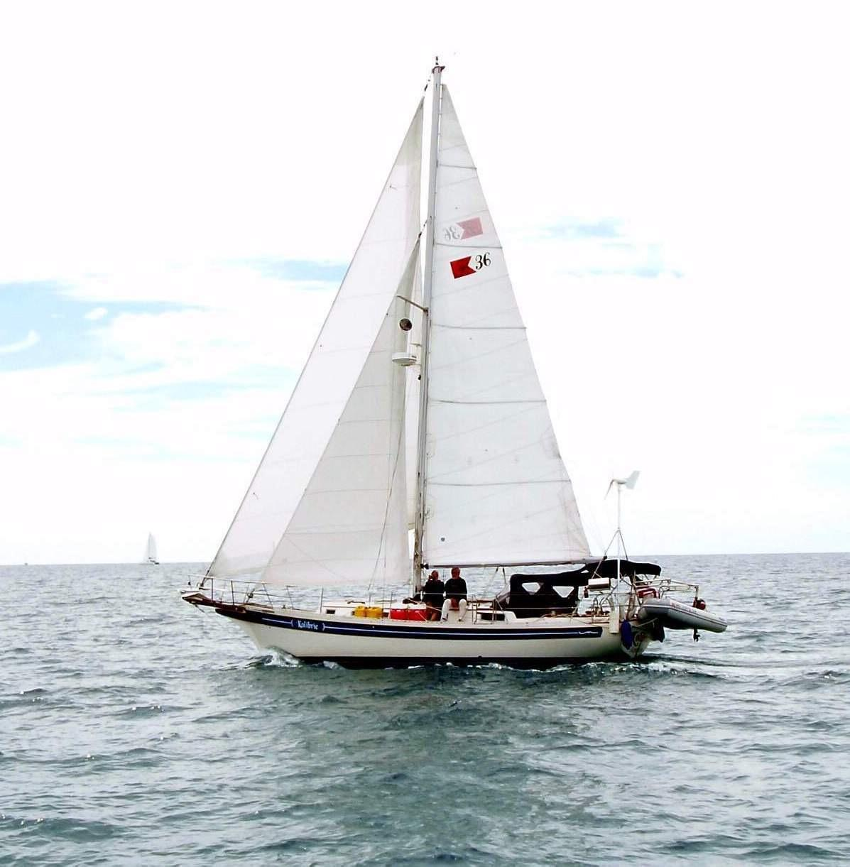 1987 Bayfield 36 Cutter Sail Boat For Sale Www