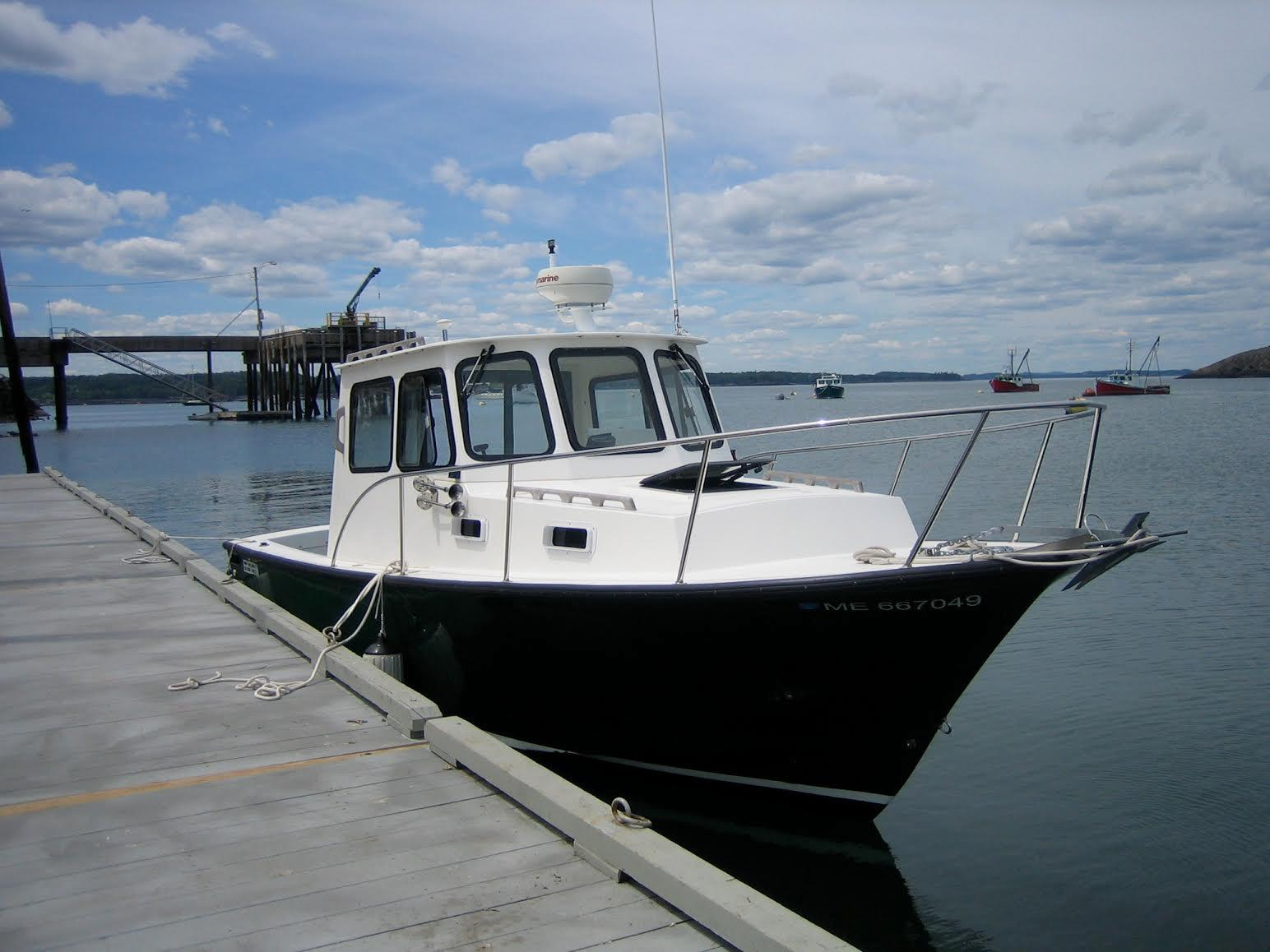2005 Eastern Downeast Lobster Yacht Power Boat For Sale