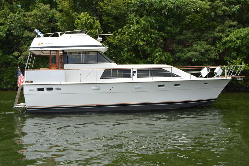 1979 Trojan 44 Motor Yacht Power Boat For Sale Www
